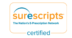 Surescripts certified eprescription
